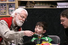 Member Bill G. Teaching a youngster at the FFE